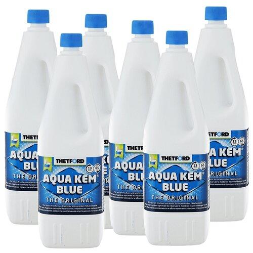 Thetford Жидкость Aqua Kem Blue, 6шт 2 л 6 шт.