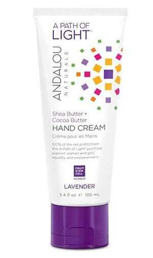 Крем для рук Andalou Naturals Lavender