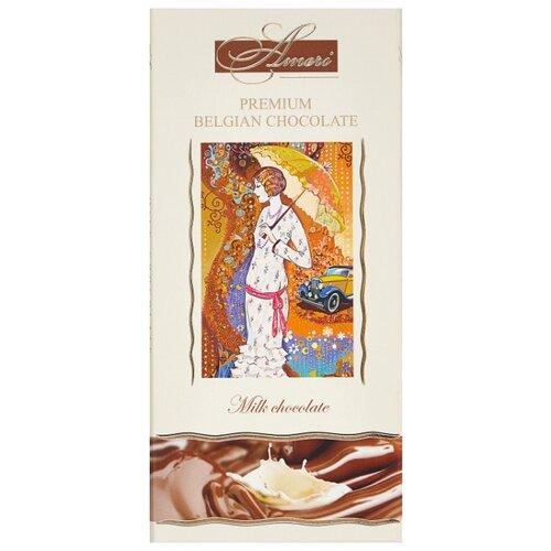шоколад ameri молочный с карамелью и морской солью 100 г Шоколад Ameri молочный 31%, 100 г