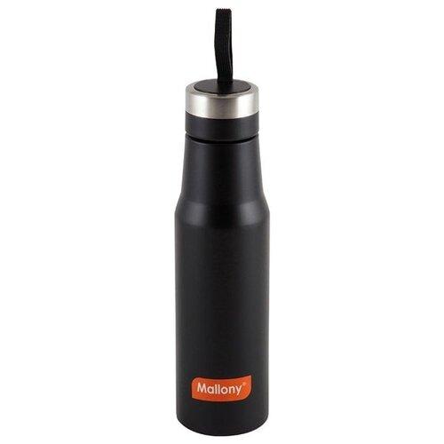 Термобутылка Mallony Nero, 0.5 л черный