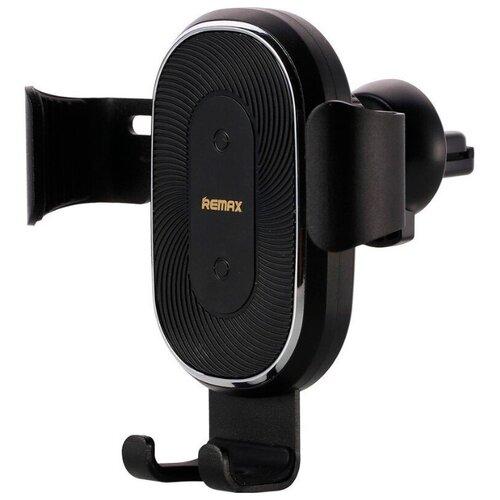 Гравитационный держатель с беспроводной зарядкой Remax RM-C38 black наушники remax rm 580 black
