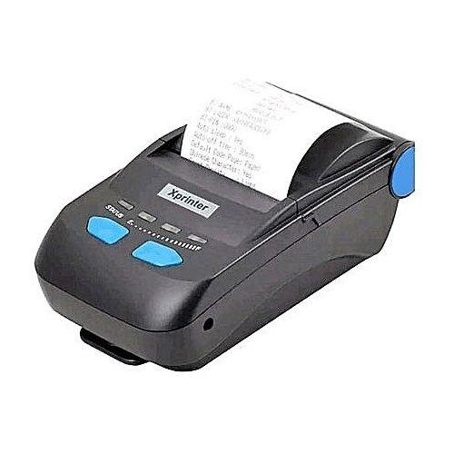 Термальный принтер чеков Xprinter XP-P300 черный принтер xprinter xp 360b