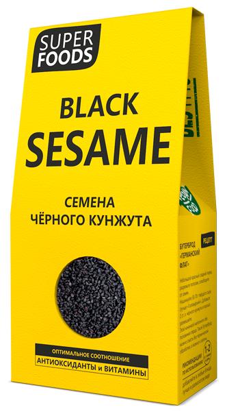 Кунжут Компас Здоровья черный 150 г