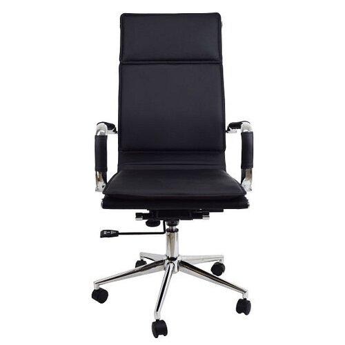 Компьютерное кресло Стимул СТК-XH-635A офисное, обивка: искусственная кожа, цвет: черный кресло стимул групп ctk xh 2107a black