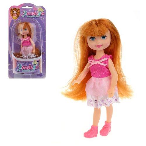 Фото - Кукла Наша Игрушка 15 см (200421929) кукла наша игрушка на прогулке 15 см лошадка