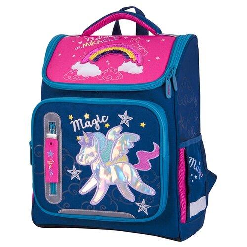 Купить Berlingo ранец Classic Magic Rainbow, синий/розовый, Рюкзаки, ранцы