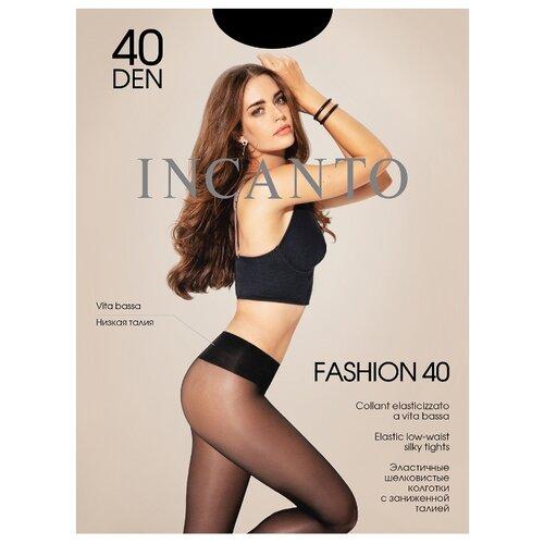 Колготки Incanto Fashion 40 den, размер 4, nero (черный) колготки incanto poudre 40 den размер 4 nero черный