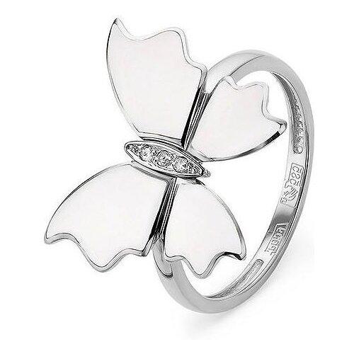 Фото - KABAROVSKY Кольцо с 3 бриллиантами из белого золота 11-1743-1010, размер 17 kabarovsky кольцо с 11 бриллиантами из белого золота 11 1803 1010 размер 17