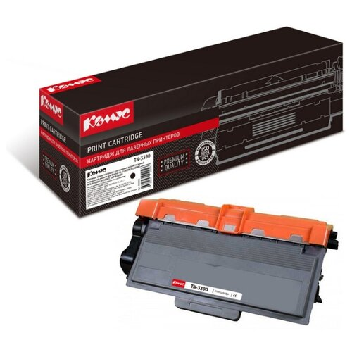 Фото - Картридж лазерный Комус TN-3390 черный, повышенная емкость, для Brother HL-6180DW картридж лазерный комус 49a q5949а черный для нр1160 1320 3390 3392