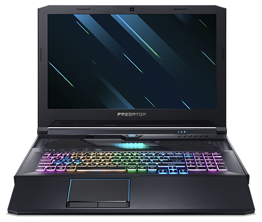 "Ноутбук Acer Predator Helios 700 (PH717-71-90DE) (Intel Core i9 9980HK 2400 MHz/17.3""/1920x1080/64GB/2048GB SSD/DVD нет/NVIDIA GeForce RTX 2080 8GB/Wi-Fi/Bluetooth/Windows 10 Home)"