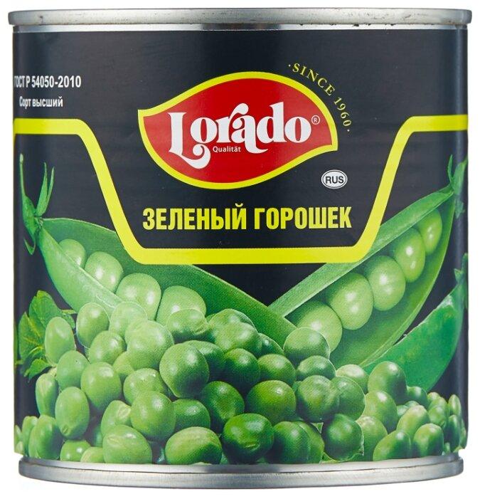 Горошек зелёный Lorado, жестяная банка 400 г