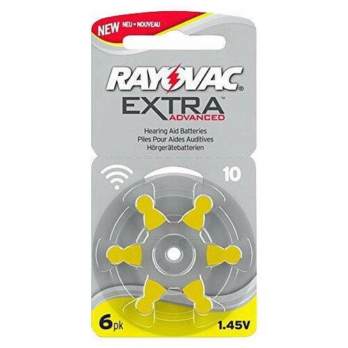 Фото - Батарейка RAYOVAC Extra ZA10, 6 шт. батарейка rayovac extra za312 6 шт