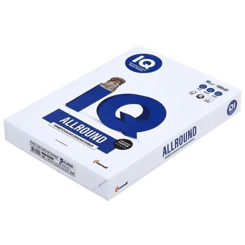 Фото - Бумага Mondi A3 IQ Allround 72 г/м² 500 лист. белый бумага iq color а4 color 120 г м2 250 лист оранжевый or43 1 шт