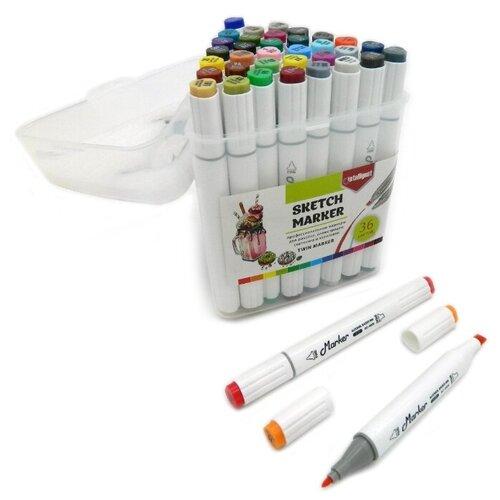 Купить Intelligent Набор маркеров, 36 шт. (BY-462), Фломастеры