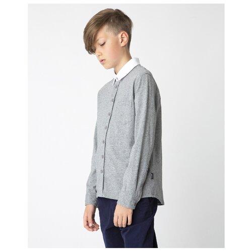 Купить Рубашка Gulliver размер 170, серый, Рубашки