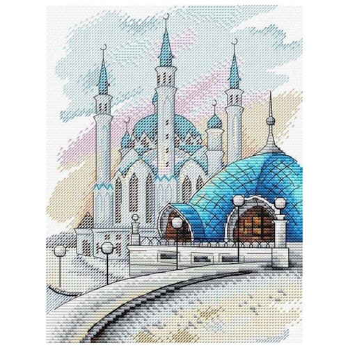 М.П.Студия Набор для вышивания Казань 22 х 17 см (М-448)