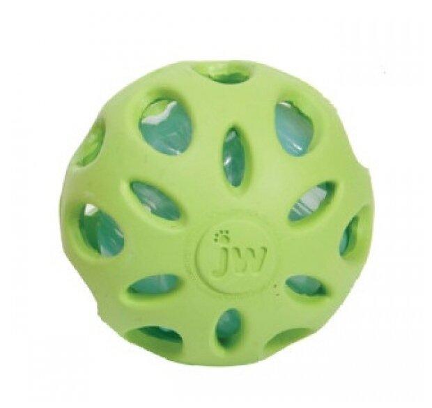Мячик для собак JW Pet Company Мяч сетчатый, хрустящий большой (JW47015)