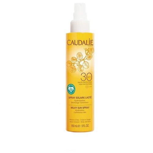 Caudalie Молочко-спрей для тела и лица солнцезащитный SPF30 150 мл sothys молочко с spf20 для лица и тела 150 мл