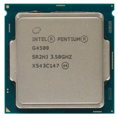 цена на Процессор Intel Pentium G4500 Skylake (3500MHz, LGA1151, L3 3072Kb) OEM