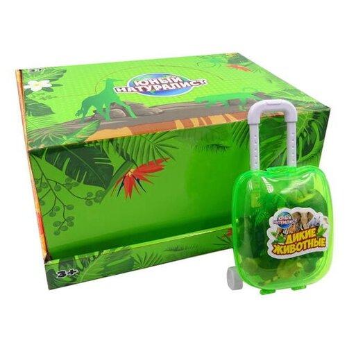 Купить Фигурки ABtoys Юный натуралист Животные в чемоданчике PT-01221/1, Игровые наборы и фигурки