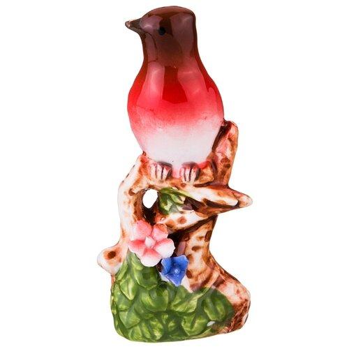 Статуэтка Lefard Птица, 10 см красный салатник lefard 15 см бежевый