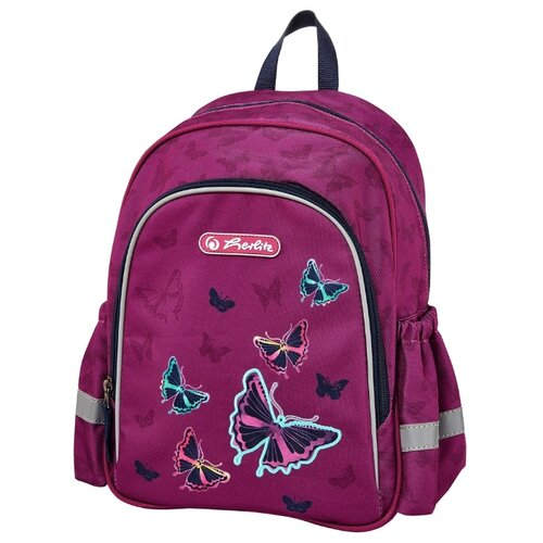 Herlitz Рюкзак Kids Butterfly, розовый herlitz рюкзак herlitz ultimate horses