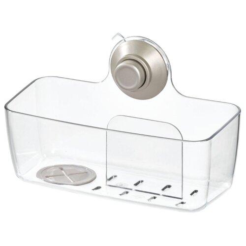 Органайзер для раковины InterDesign Push-Lock 79740 19.3x9.5x12.4 см