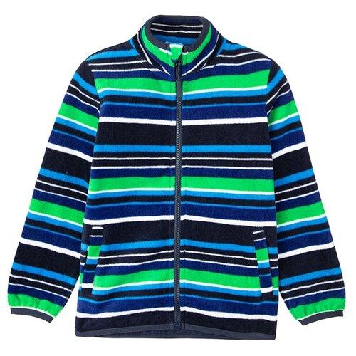 Олимпийка playToday размер 98, синий/зеленый, Толстовки  - купить со скидкой