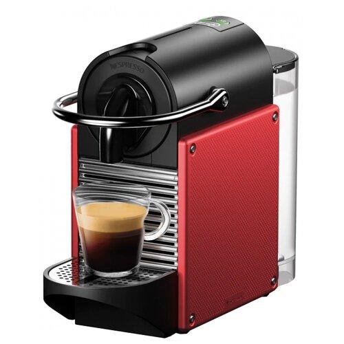 Кофемашина De'Longhi Nespresso Pixie EN 124 красный кофемашина капсульная delonghi nespresso pixie en124 r красный