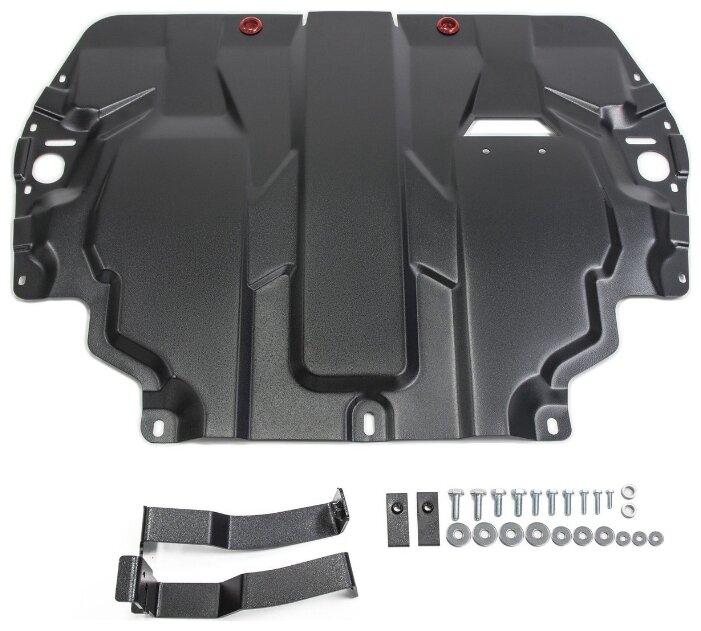 Защита картера двигателя и коробки передач Автоброня 111.05107.1 для SEAT, Skoda, Volkswagen