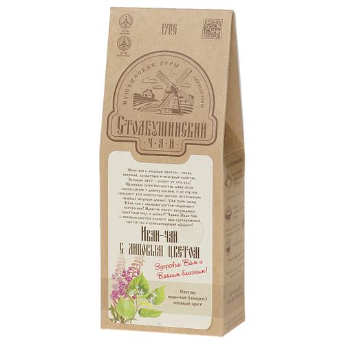 Чай травяной Столбушинский Иван-чай с липовым цветом, 30 г чай травяной столбушинский иван чай с чабрецом и дущицей 30 г
