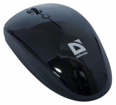 Мышь Defender Optimum 115 Nano Black USB