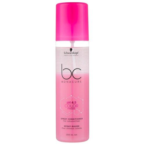 BC Bonacure Color Freeze pH 4.5 Спрей-кондиционер для окрашенных волос, 200 мл спрей bonacure увлажняющий
