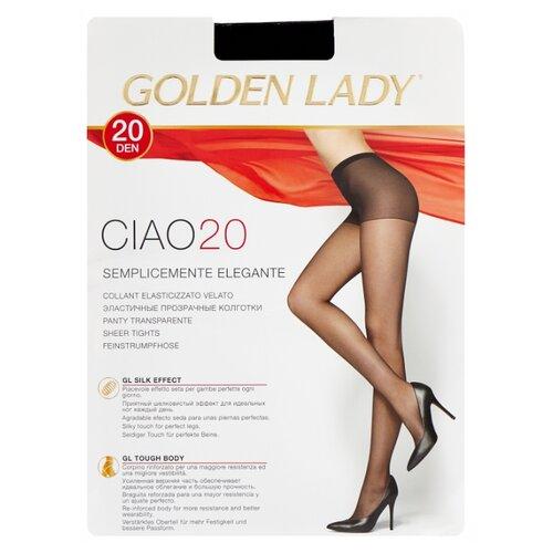 Колготки Golden Lady Ciao 20 den, размер 2-S, nero (черный) колготки golden lady ciao 20 den размер 3 m nero черный