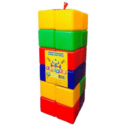 Купить Кубики Новокузнецкий завод пластмасс в сетке (24 шт.), Детские кубики