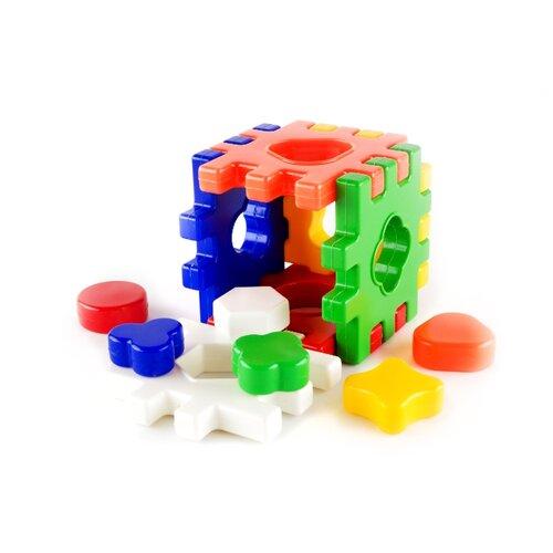 Купить Сортер Пластмастер Логический Куб, Сортеры