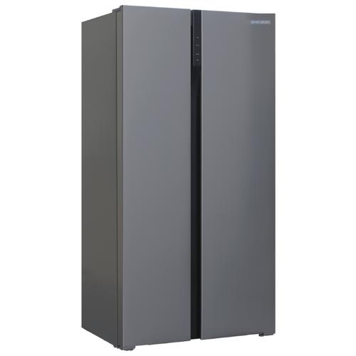 Холодильник Shivaki SBS-574DNFX shivaki холодильник shivaki shrf 601sdw нержавеющая сталь двухкамерный