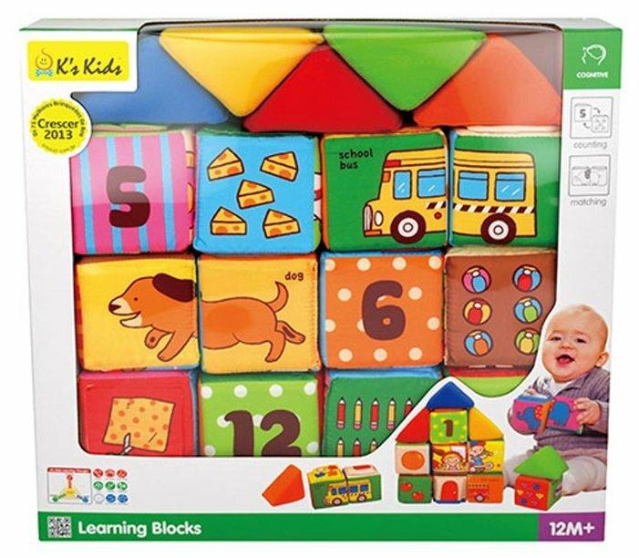Кубики-пазлы K s Kids Learning Blocks