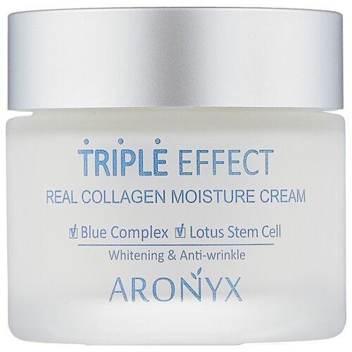 Купить Aronyx Triple Effect Real Collagen Moisture Cream Крем для лица с морским коллагеном, 50 мл