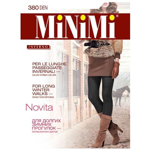 Колготки MiNiMi Novita 380 den, размер 4-L, nero (черный) фото