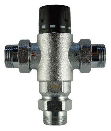 Трехходовой смесительный клапан термостатический Tim BL8804 муфтовый (НР), Ду 25 (1