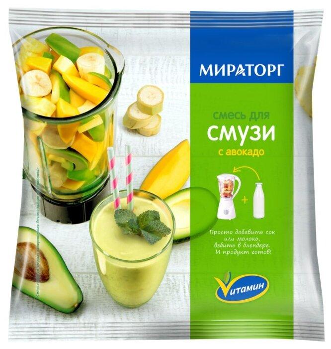 Vитамин Смесь для смузи с авокадо замороженная 250 г