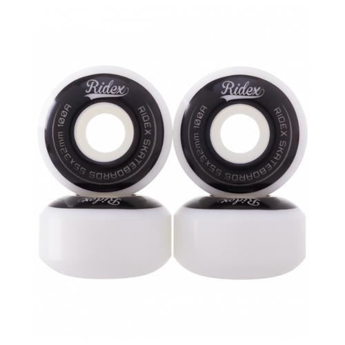 Комплект колес Ridex SB 55 х 32, 4 шт. белый/черный