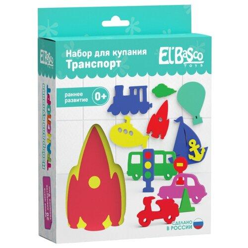 Купить Набор для ванной El'BascoToys Аква. Транспорт (03-007) разноцветный, Игрушки для ванной