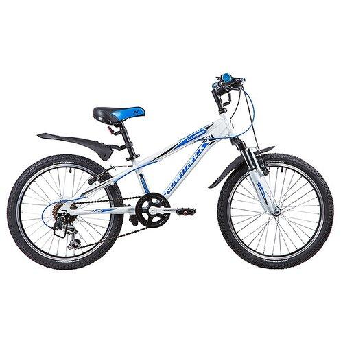 Подростковый горный (MTB) велосипед Novatrack Lumen 20 (2019) белый (требует финальной сборки)