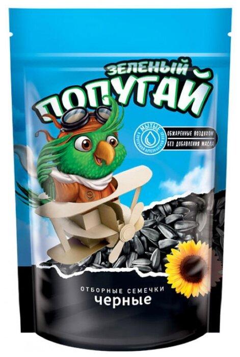 Семена подсолнечника Зеленый попугай Отборные 300 г