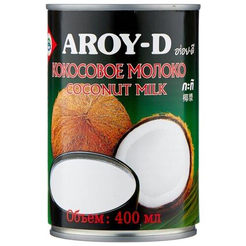 Aroy-D Молоко кокосовое, 400 мл сливки aroy d кокосовые 70