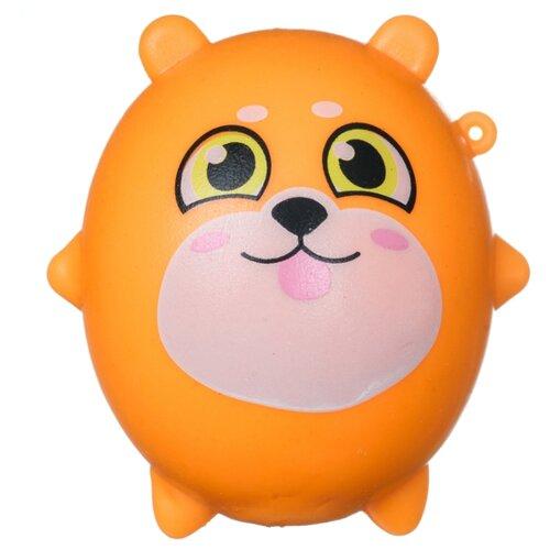 Купить Игрушка-мялка BONDIBON Песик (ВВ4295) оранжевый, Игрушки-антистресс