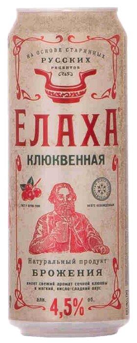 Медовуха Елаха клюквенная 0.45 л