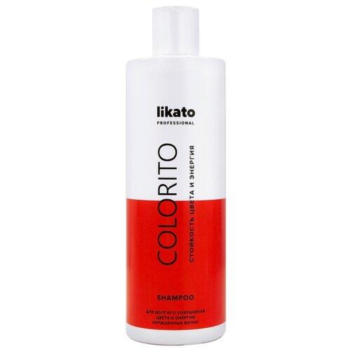 Likato шампунь Colorito Стойкость цвета и энергия 400 мл минеральный шампунь 400 мл likato минеральный шампунь 400 мл